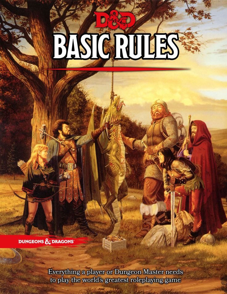 Basic D&D 5th Edition. Free PDF - go get it for yourself at the link. Well over 100 pages of D&D goodness.