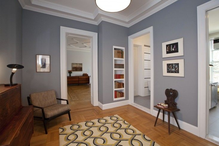 The Architect Is In: Reviving a Family Flat on Riverside Drive : Living room paint, Timber wolf ...