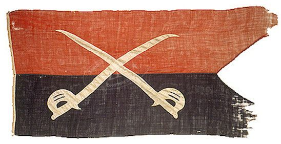 ZFC - Flags and Artifacts from Major General George Armstrong Custer
