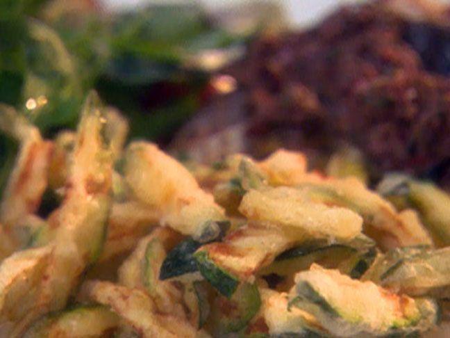 Zucchini Fritti recipe from Giada's Weekend Getaways via Food Network