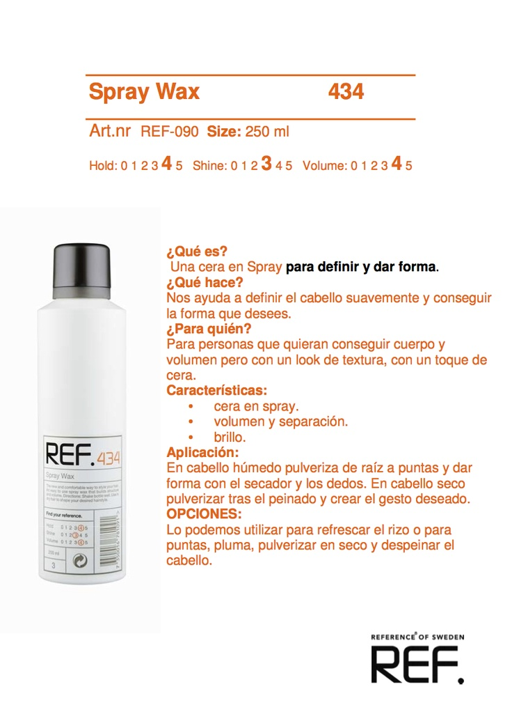 ref spray wax