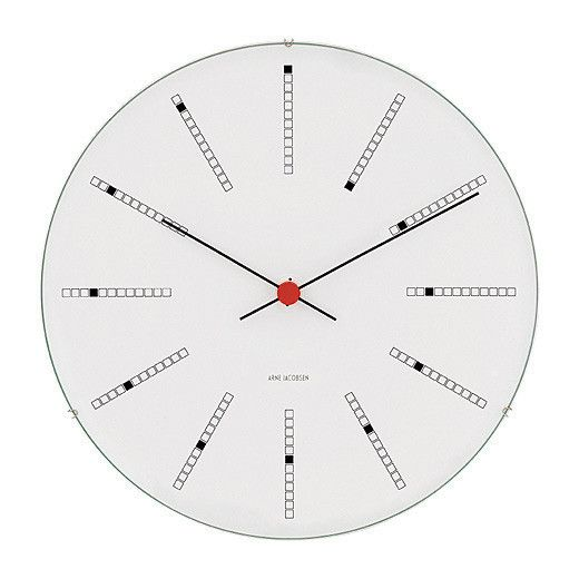 Arne Jacobsen: Arne Jacobsen Clock - Danish Design Store