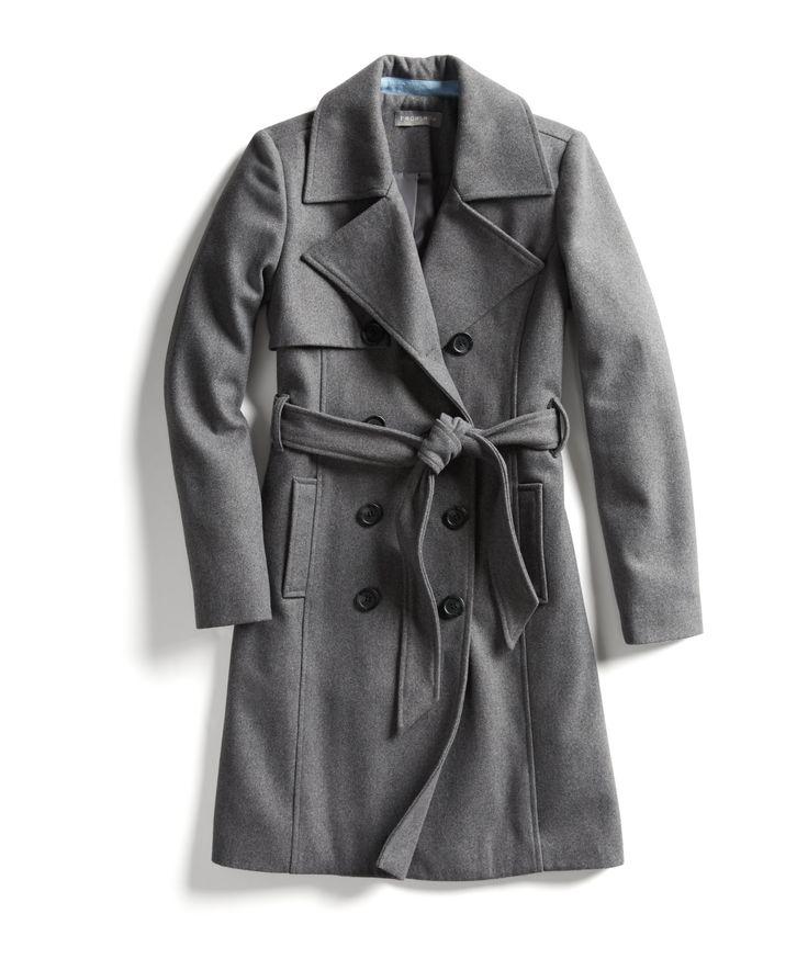 Stitch Fix Fall Stylist Picks: Classic grey coat