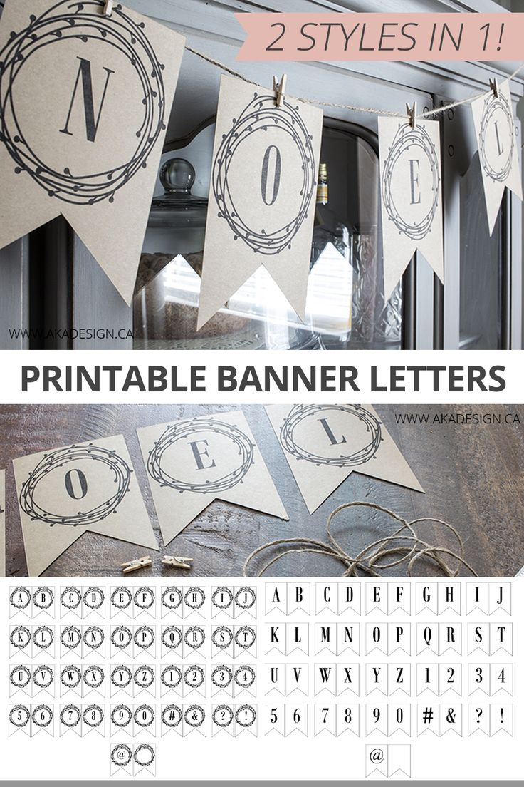 free bridal shower printable banner%0A Free Printable Banner Letters