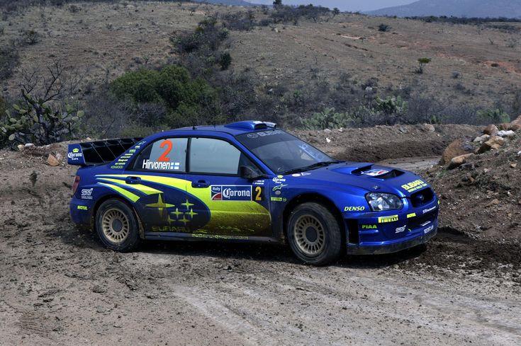 Subaru Impreza WRC - Hirvonen