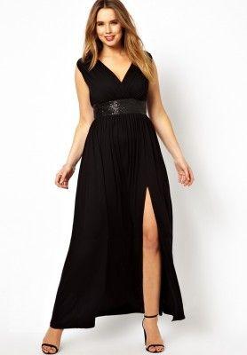 Vestidos Para Gorditas De Fiestas Largos En Diseños Lindos