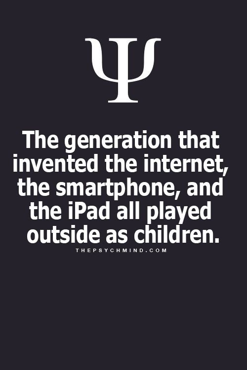 So fuck off to all the annoying old people thinking they're better than everyone bc they grew up without technology