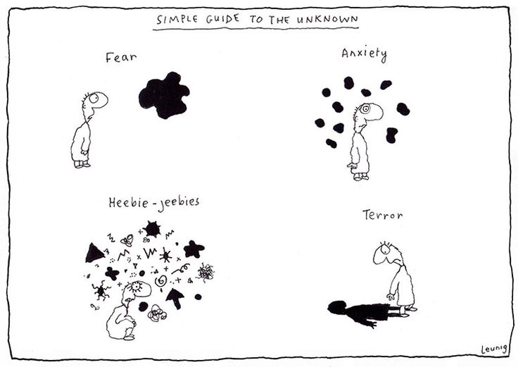 Simple Guide to the Unknown - Michael Leunig