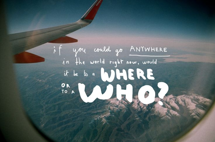 Who and Where