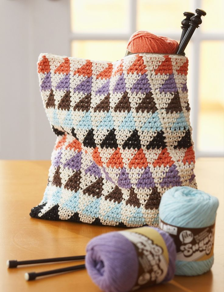 Totally Triangles Multi-Use Bags free pattern