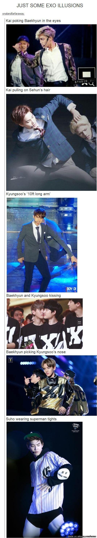 EXO Illusions | allkpop Meme Center