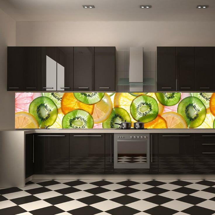 Amazing Kitchen Photo Wallpaper Instead Of Tiles Wall Mural Mural Wallpaper Photowallpaper Kitchen Ideas Pinterest Kitchen Photos