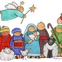 cute Nativity pictures