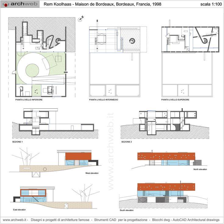 17 best images about aps on pinterest house drawing villas and architecture - Maison de l architecture bordeaux ...