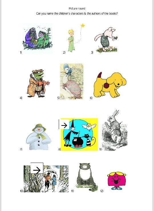 Character Design For Children S Books : Children s book character quiz shower pinterest