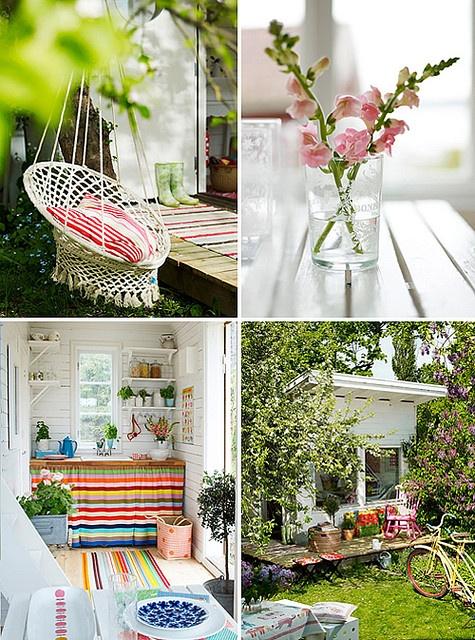 garden ideas: Fun Recipes, Garden Ideas, Ideas Tanz42, Style, Color, Sheds, Gardens, House