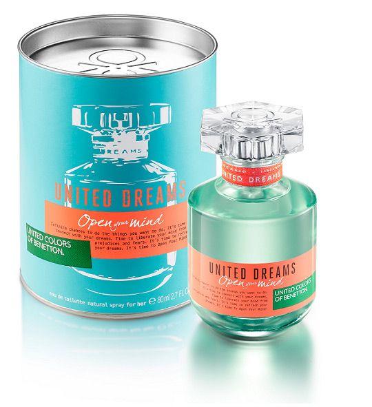 United Dreams Open Your Mind Benetton perfume - una nuevo fragancia para Mujeres 2015