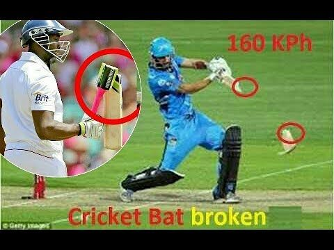 Top 10 Fast bowling cricket BATS broken by fast bowlers - (More info on: https://1-W-W.COM/Bowling/top-10-fast-bowling-cricket-bats-broken-by-fast-bowlers/)