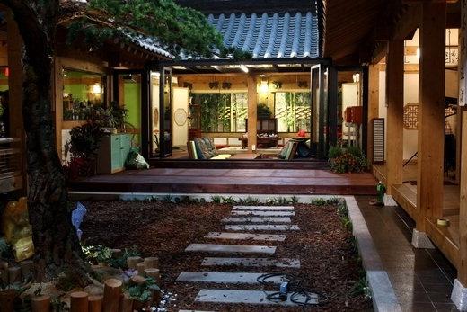 Korean-style house, Seoul in korea