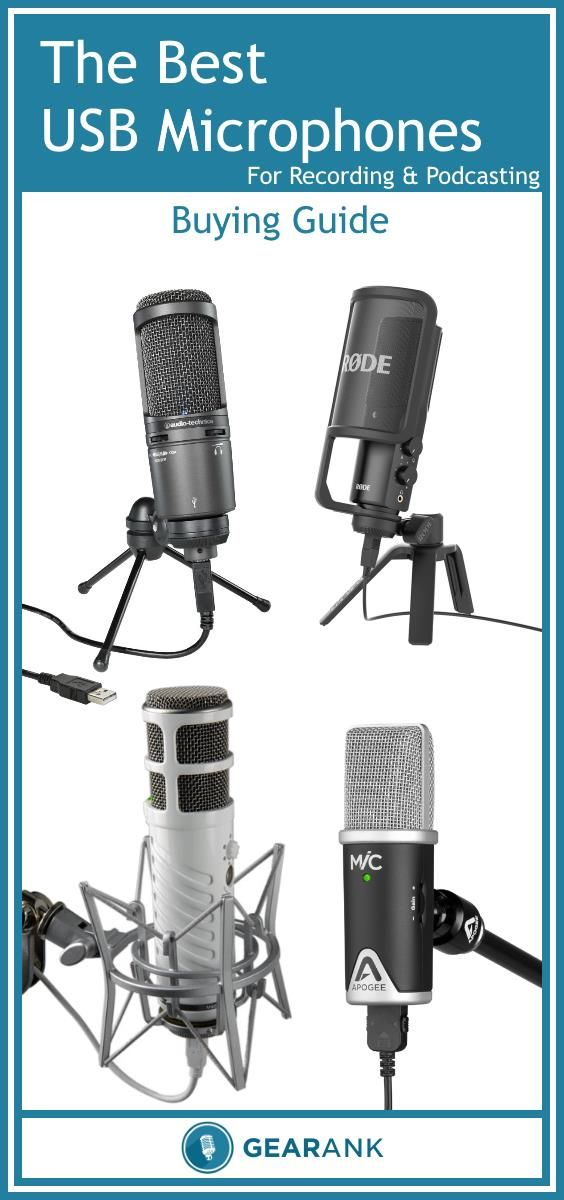 A Detailed Guide to The Best USB Microphones for Recording & Podcasting. In addition to a list of recommended USB mics based on ratings by the recording community this guide explains topics such as The Differences Between USB and XLR Mics, Condenser & Dynamic Mics, Zero Latency Monitoring and iPad USB Power Issues.