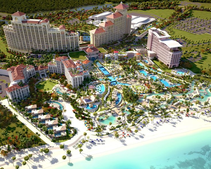 The northern concept view of the mega resort.