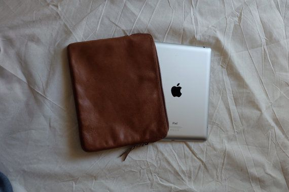 Cetta Ipad case in vintage look genuine leather with by pitto
