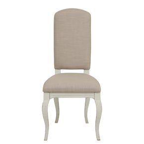 Conviez vos invités autour d'une table à l'allure élégante et raffinée grâce à ces chaises de la collection Provence. Leurs courbes élancées et harmonieuses sont mises en valeur par un tissu couleur lin. Inspirées de la décoration des belles demeures du sud, ces chaises en épicéa à la finition patinée blanche apporteront une réelle valeur ajoutée à la décoration de votre salle à manger. Complétez votre pièce en mariant ces chaises à la table à allonges de la collection Provence.