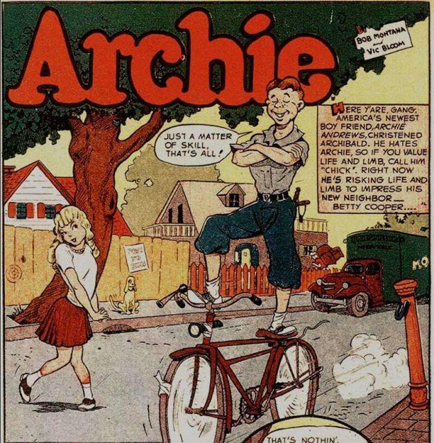 Undercover Archie: September 2013