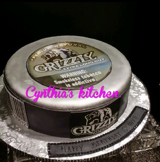Grizzly tobacco cake
