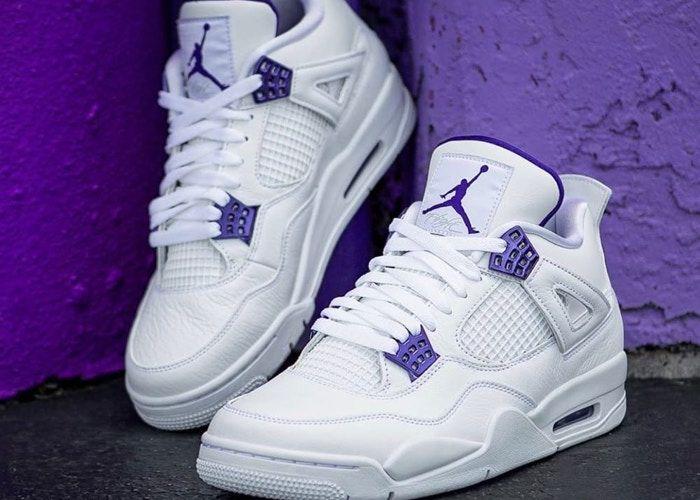 motor Con fecha de Celda de poder  Jordan 4 Retro Metallic Purple | Jordan shoes retro, Jordan shoes girls,  Sneakers fashion