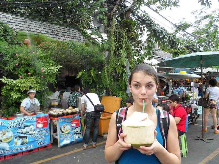 Fresh coconut Bangkok