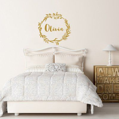 Decal House Rustic Wall Decal Color: Gold