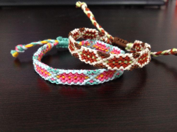 Stitch, pink, skyblue, brown, yellowgreen