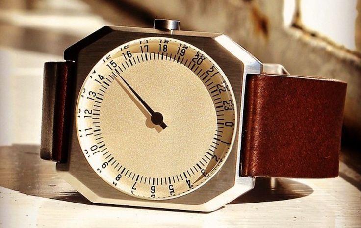 Slow Watches, la montre dont le cadran affiche 24 heures - http://www.leshommesmodernes.com/slow-watches-cadran-24-heures/