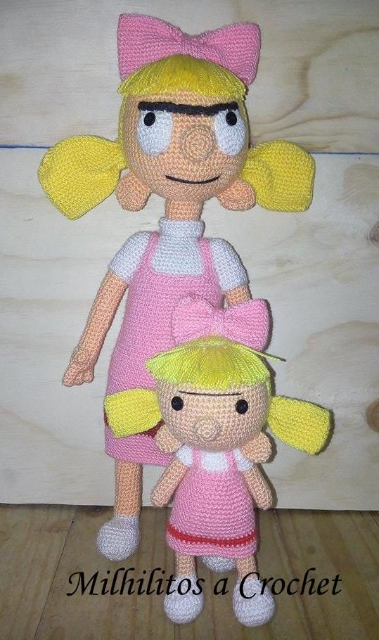 Helga Pataki personaje - kawaii
