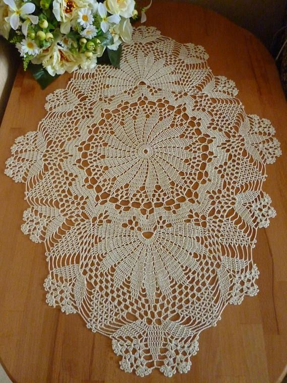 oval table cloth,crochet doily,lace table cloth,crochet napkin,large doily,large tablecloth,tablecloth,table centerpiece,beige centerpiece oval table cloth,crochet doily,lace table cloth, table decor,oval doily,crochet napkin, large doily,crochet table cloth, large tablecloth,crochet