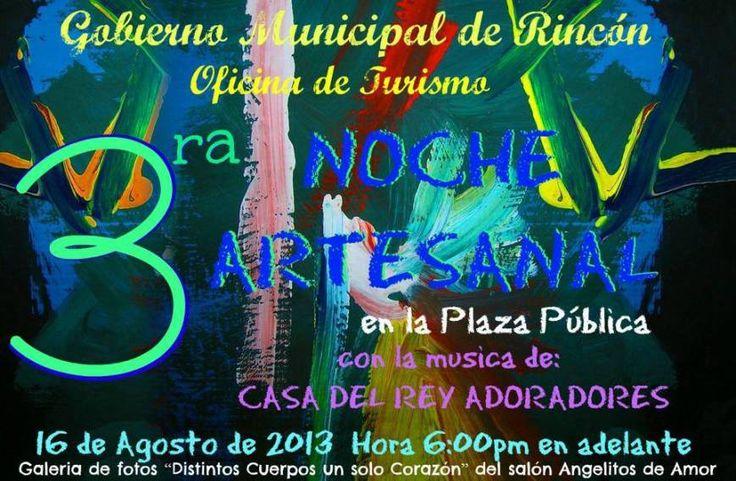 3ra Noche Artesanal @Rincón #sondeaquipr #nocheartesanal #rincon