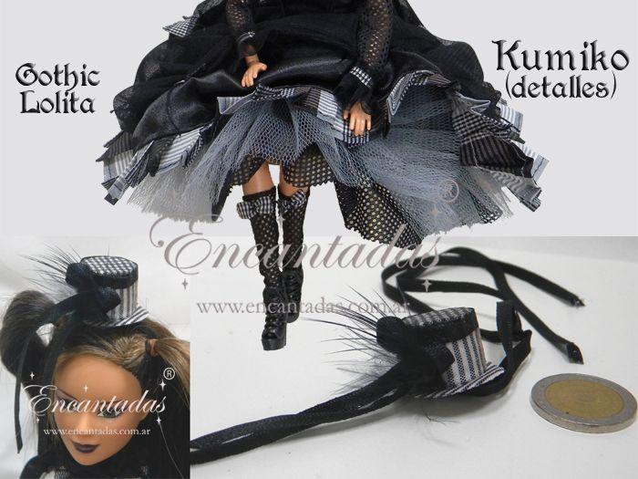 KUMIKO - Gothic Lolita Costume some details by Encantadas.deviantart.com