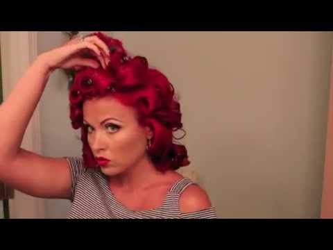 Vintage 1940s Hair Tutorial
