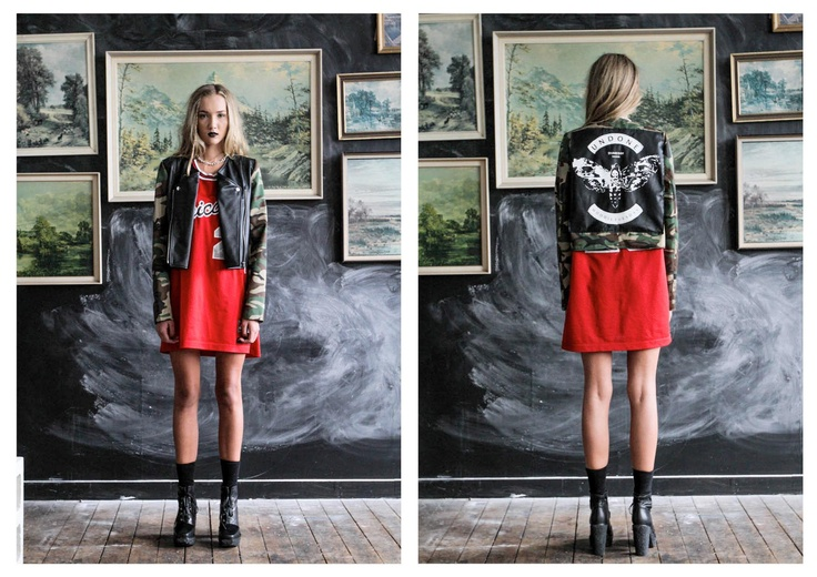 Our UNDONE X MOODIE TUESDAY jacket that was auctioned off for charity
