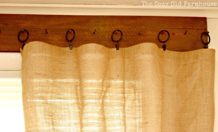 Rustic Star Shower Curtain Hooks