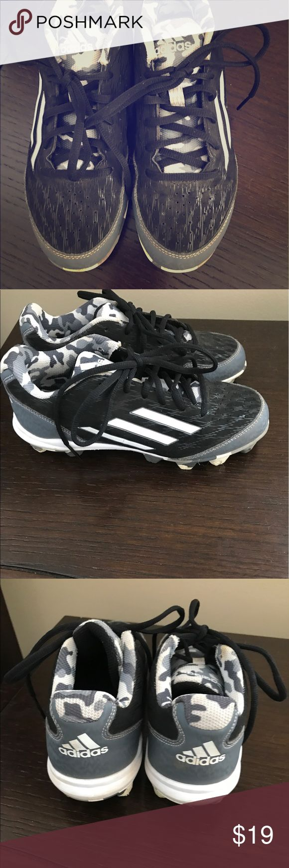 Boys Football Cleats Male youth Football Cleats by Adidas in great condition. Purchased from Dick's sporting goods last fall. adidas Shoes