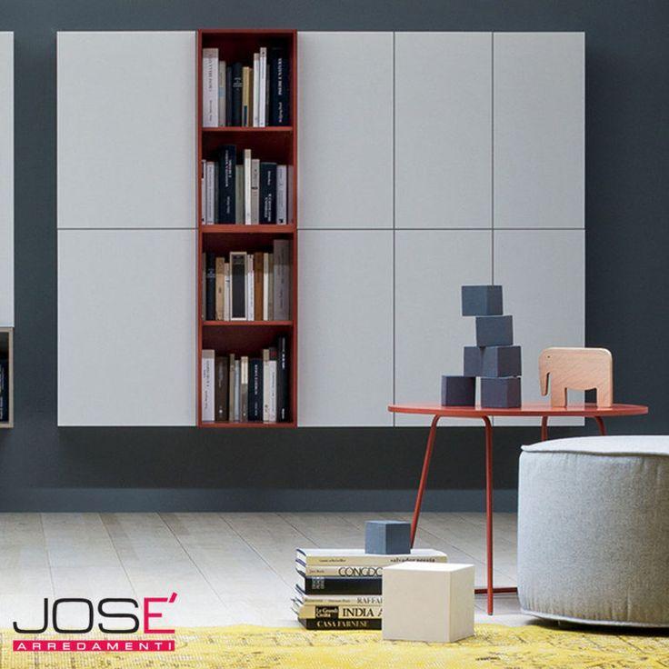 Box 12 è un programma composto da elementi a giorno e contenitori a due profondità. A sistema o disarticolato asseconda le diverse esigenze progettuali.