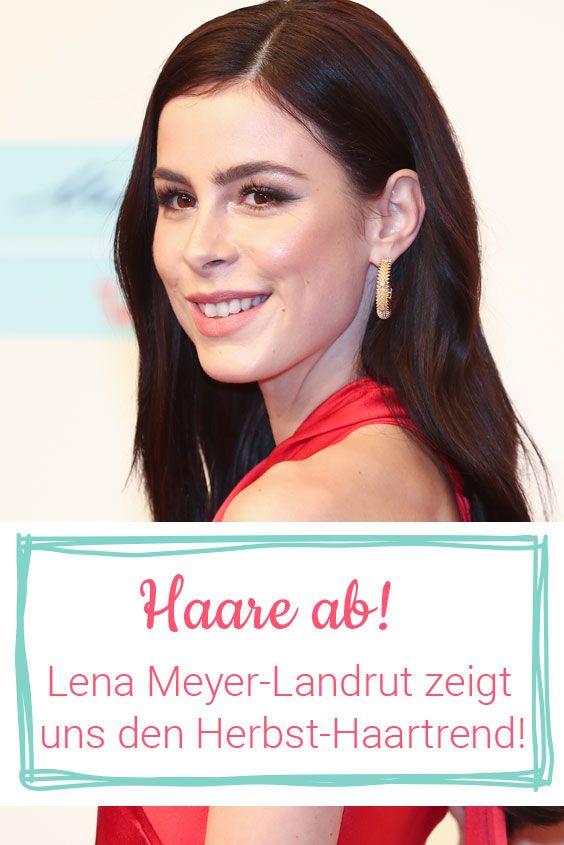 Lena Meyer Landrut Neue Frisur Ihre Haare Sind Ab Star Frisuren