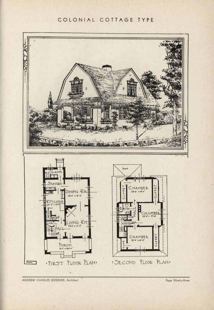 1000 images about vintage house plans 1930s on pinterest for Antique colonial house plans