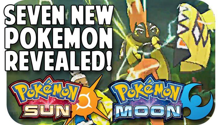 POKEMON SUN & MOON SEVEN NEW POKEMON!! Trailer Breakdown w/ TheKingNappy!