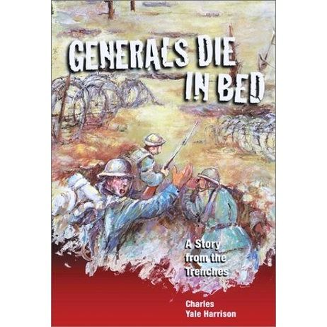 A young soldier with the Canadian forces questions the meaning of heroism, of truth, and of good and evil as he describes life in the trenches during World War I. See if it is available: http://www.library.cbhs.school.nz/oliver/libraryHome.do