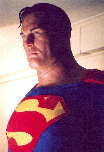 Alex Ross Superman Model Mike hill