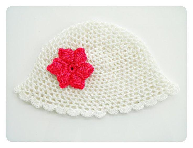 Ażurowa czapka