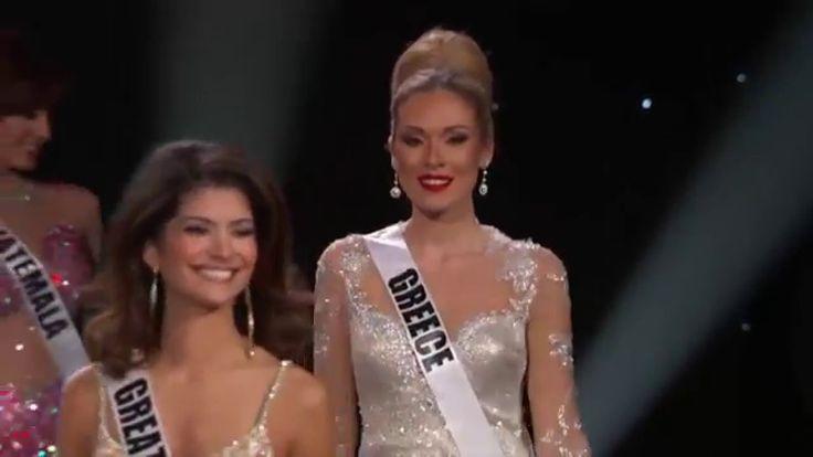 Mikaela Eleni Fotiadi - Miss Greece - Miss Universe 2015 Preliminary Com...